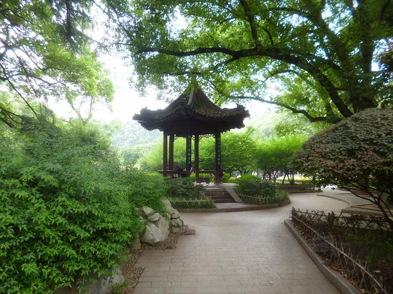 中山公园-武汉的朋友,你在那里玩过几次,我和你是否擦肩而过?