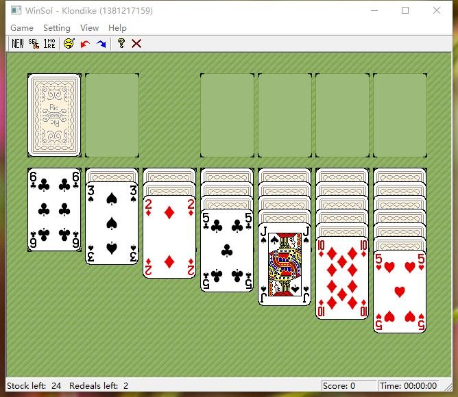 介绍一个个人改编的纸牌游戏WinSol。